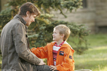 "Josh Hartnett and Dakota Goyo in ""Resurrecting the Champ."""