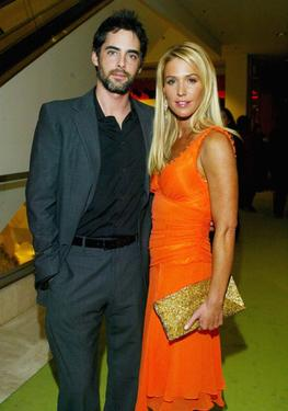 Adam Kaufman and Poppy Montgomery at the Missoni Spring 2005 and Retrospective Fashion Show.
