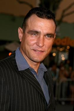 "Vinnie Jones at the premiere of ""Babel."""
