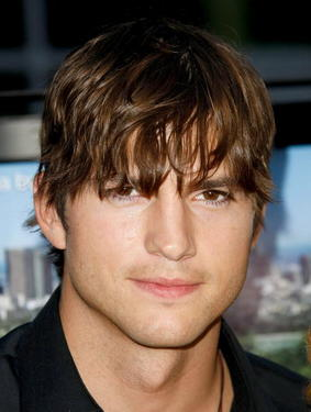 "Ashton Kutcher at the California premiere of ""Spread."""