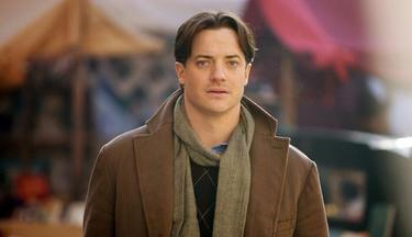 "Brendan Fraser as Mo in ""Inkheart."""