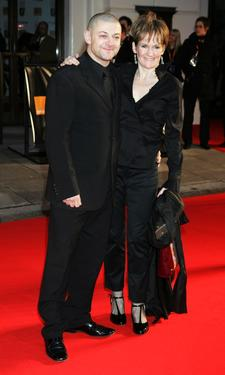 Andy Serkis and his wife Lorraine Ashbourne at the Orange British Academy Film Awards (BAFTAs).