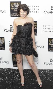 Sadie Frost at the 2008 British Fashion Awards.
