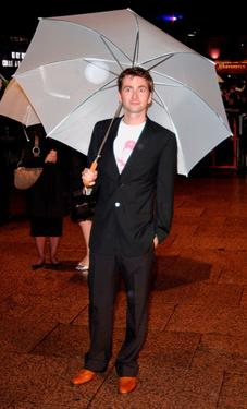 "David Tennant at the world premiere of ""Harry Potter And The Goblet Of Fire."""