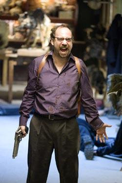 "Paul Giamatti in ""Shoot 'Em Up."""
