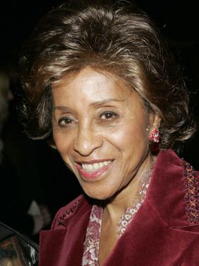 Marla Gibbs at the Dionne Warwick: 45th Anniversary Spectacular after party.