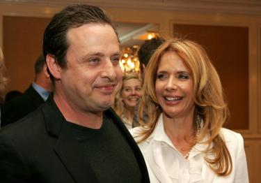 Richmond Arquette and Rosanna Arquette at the AFI Associates luncheon.
