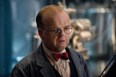 "Toby Jones as Dr. Arnim Zola in ""Captain America: The First Avenger."""