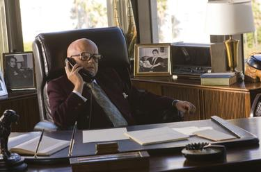 "Toby Jones as Swifty Lazar in ""Frost/Nixon."""