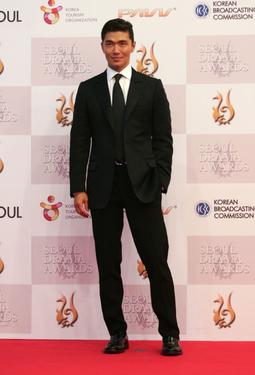 Rick Yune at the 2nd Seoul Drama Awards 2007.