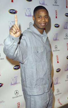 "Doug E. Fresh at the ""E! Super Party"" benefiting the HollyRod Foundation."