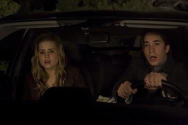 "Alison Lohman and Justin Long in ""Drag Me to Hell."""