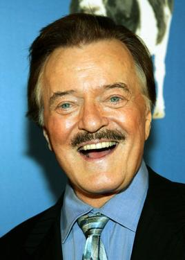 "Robert Goulet at the premiere of ""Monty Python's Spamalot"" at the Grail Theater at the Wynn Las Vegas."