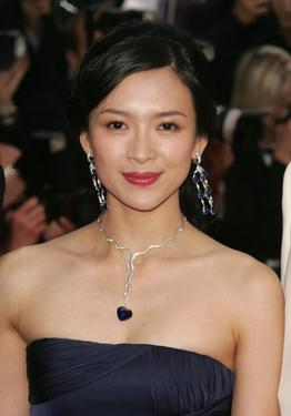 "Zhang Ziyi at the premiere of ""Transylvania"" during the 59th International Cannes Film Festival closing ceremony."