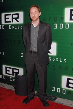 "Scott Grimes at the celebration for the 300th episode of ""ER."""