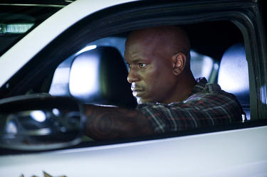 "Tyrese Gibson in ""Fast Five."""