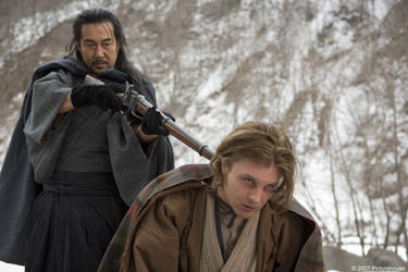 "Kôji Yakusho and Michael Pitt in ""Silk."""