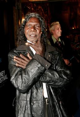 David Gulpilil at the Sydney Film Festival Opening Night.