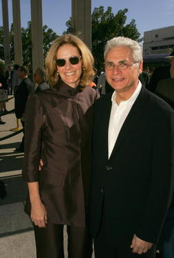 "Julie Hagerty and husband Richard Kagan at the opening of ""The Cherry Orchard""."