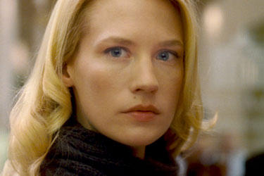 "January Jones in ""Unknown."""