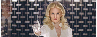 "January Jones as Emma Frost in ""X-Men: First Class."""