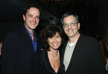 "Tim DeKay, Adrienne Barbeau and Howard Klein at the ""Carnivale"" second season party."