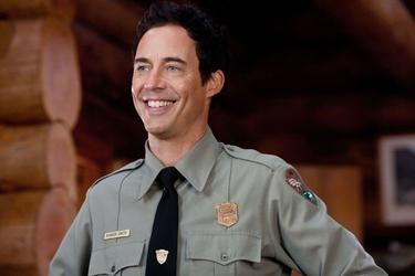 "Tom Cavanagh as Ranger Smith in ""Yogi Bear."""