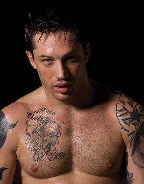 "Tom Hardy in ""Warrior."""