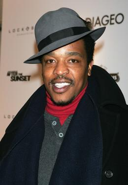 "Russell Hornsby at the premiere of ""After The Sunset."""