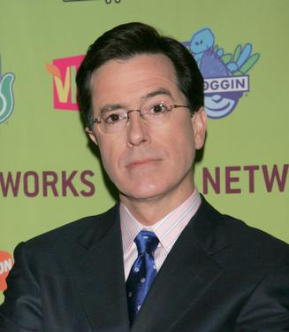Stephen Colbert at the MTV Networks 2006 Upfront: Feed The Need.