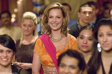 "Katherine Heigl in ""27 Dresses."""