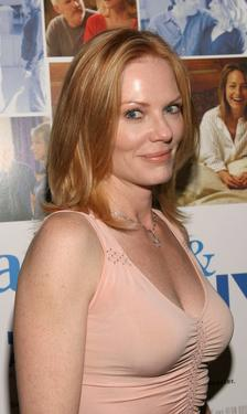 "Marg Helgenberger at the Premiere of ""Frankie and Johnny Are Married""."