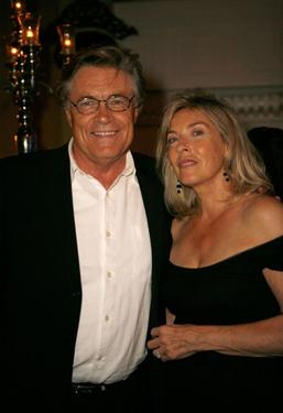 Art Hindle and Brooke Hindle at the Toronto International Film Festival 2007.