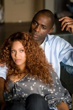 "Idris Elba and Beyonce Knowles in ""Obsessed."""