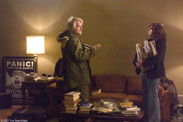 "Philip Seymour Hoffman and Laura Linney in ""The Savages."""