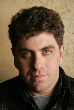 "Director/screenwriter Eugene Jarecki on the set of ""Freakonomics."""