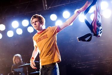 "Michael Cera as Scott Pilgrim in ""Scott Pilgrim vs. the World."""