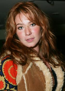 "Lynn Collins at the afterparty of the premiere of ""Elizabethtown."""