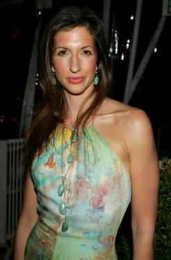 Alysia Reiner at the Fox Golden Globe After party.