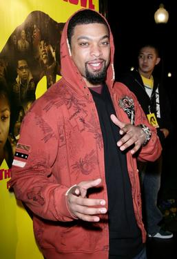 "DeRay Davis at the premiere of ""How She Move."""