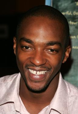 "Anthony Mackie at the premiere of ""Half Nelson""."