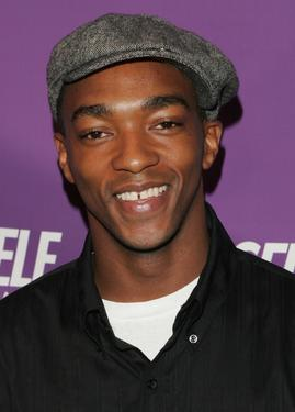 "Anthony Mackie at the openieng night gala of ""Self Center""."