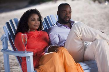 "Janet Jackson as Patricia and Malik Yoba as Gavin in ""Tyler Perry's Why Did I Get Married Too?"""