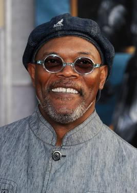 "Samuel L. Jackson at the California premiere of ""Iron Man 2."""