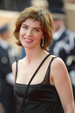 "Irene Jacob at the Le Palais de Festival at the 57th Cannes Film Festival, attends the premiere of ""The Edukators""."