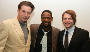 "William Baldwin, Blair Underwood and Seth Gabel at the after party for the premiere of ""Dirty Sexy Money""."