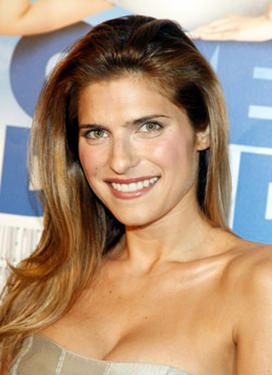 "Actress Lake Bell at the Hollywood premiere of ""Over Her Dead Body."""