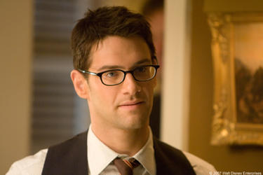 "Justin Bartha in ""National Treasure: Book of Secrets."""