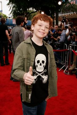 "Cameron Monaghan at the premiere of ""Monster House."""