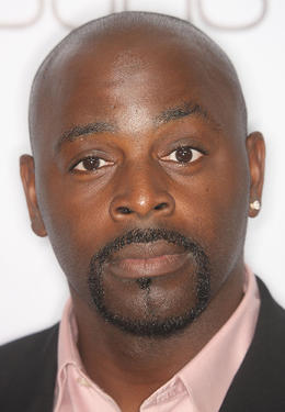 "Alimi Ballard at the 100th episode party of ""Numb3rs"" television show in California."